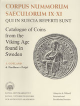 Corpus Nummorum, 1. Gotland 4 : Catalogue of Coins from the Viking Age found in Sweden av Brita Malmer