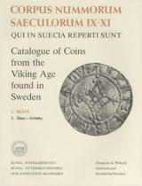 Corpus Nummorum, 3. Skåne 1 : Catalogue of Coins from the Viking Age found in Sweden av Brita Malmer