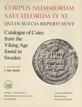 Corpus Nummorum, 1. Gotland 2 : Catalogue of Coins from the Viking Age found in Sweden av Brita Malmer