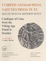 Corpus Nummorum, 16. Dalarna 1 : Catalogue of Coins from the Viking Age found in Sweden av Brita Malmer