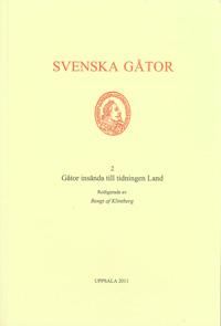 Gåtor insända till tidningen Land av Bengt af Klintberg