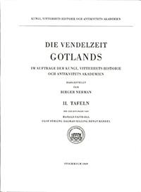 Die Vendelzeit Gotlands, II. Tafeln