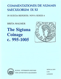 The Sigtuna coinage c. 995-1005