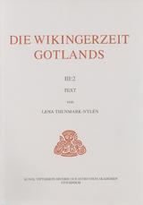 Die Wikingerzeit Gotlands III:2