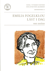 Emilia Fogelklou läst i dag