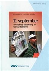 11 september mediernas bevakning av terrorattackerna