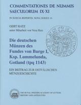 Die Deutschen Münzen des Fundes Von Burge 1, Ksp. Lummelunda, Gotland (tpq 1143)