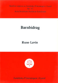 Barnbidrag av Rune Lavin