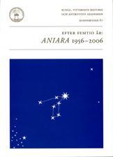 Efter femtio år: Aniara 1956-2006