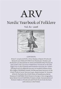 Arv - Nordic Yearbook of Folklore Vol. 62 - 2006