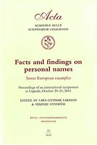 Facts and findings on personal names