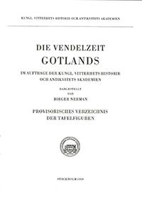 Die Vendelzeit Gotlands, II. Beilage