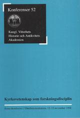 Kyrkovetenskap som forskningsdisciplin