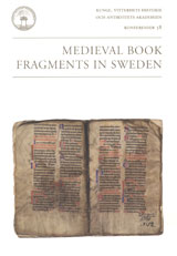 Medieval book fragments in Sweden