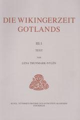 Die Wikingerzeit Gotlands III:1