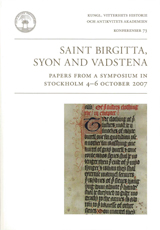 Saint Birgitta, Syon and Vadstena