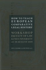 How to Teach European Comparative Legal History