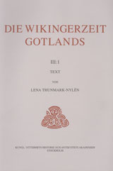 Die Wikingerzeit Gotlands III:1-2 Text