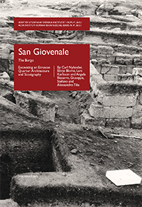 San Giovenale, vol. 5, fasc. 1 The Borgo - Excavating an Etruscan Quarter: Architecture and Stratigraphy