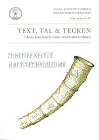 Text, tal och tecken