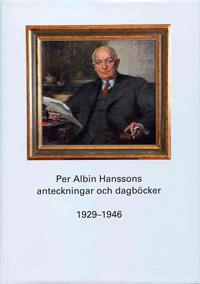 Per Albin Hanssons anteckningar och dagböcker 1929-1946