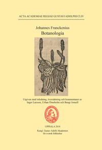 Johannes Franckenius: Botanologia