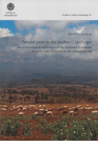 Pastoral pasts in the Amboseli landscape