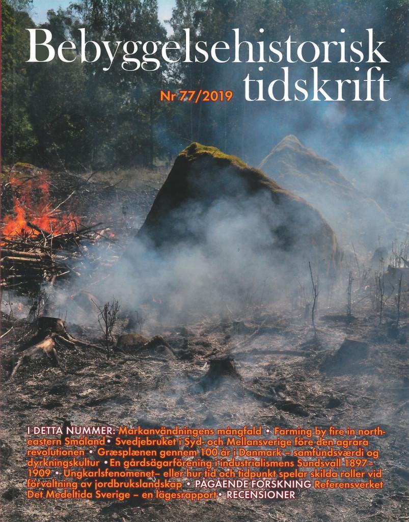 Bebyggelsehistorisk tidskrift