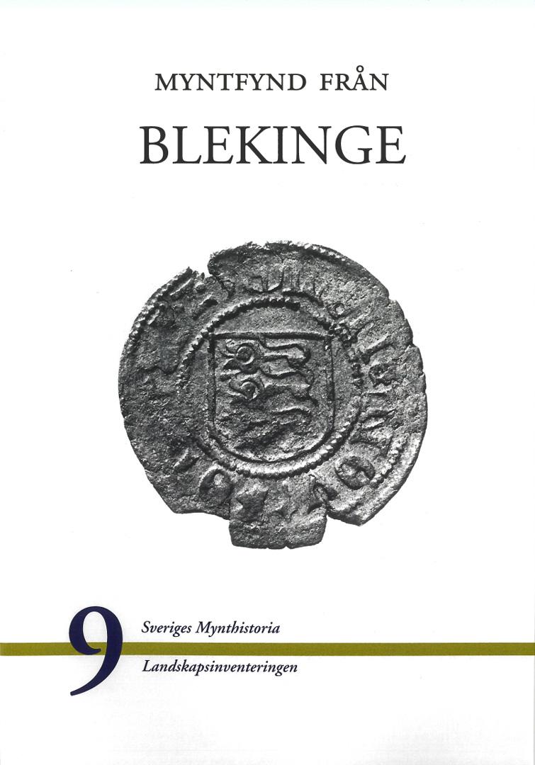 Myntfynd från Blekinge