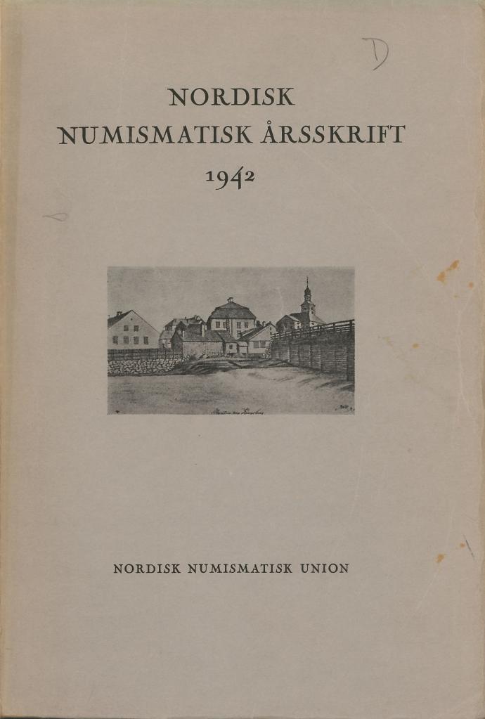Nordisk Numismatisk Årsskrift 1942