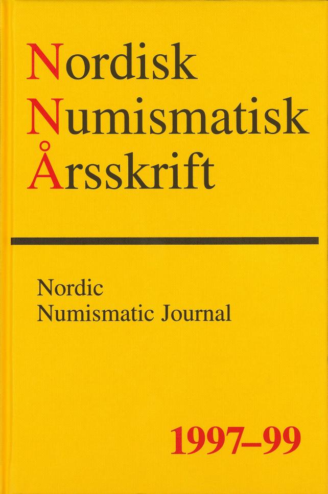 Nordisk Numismatisk Årsskrift 1997-99