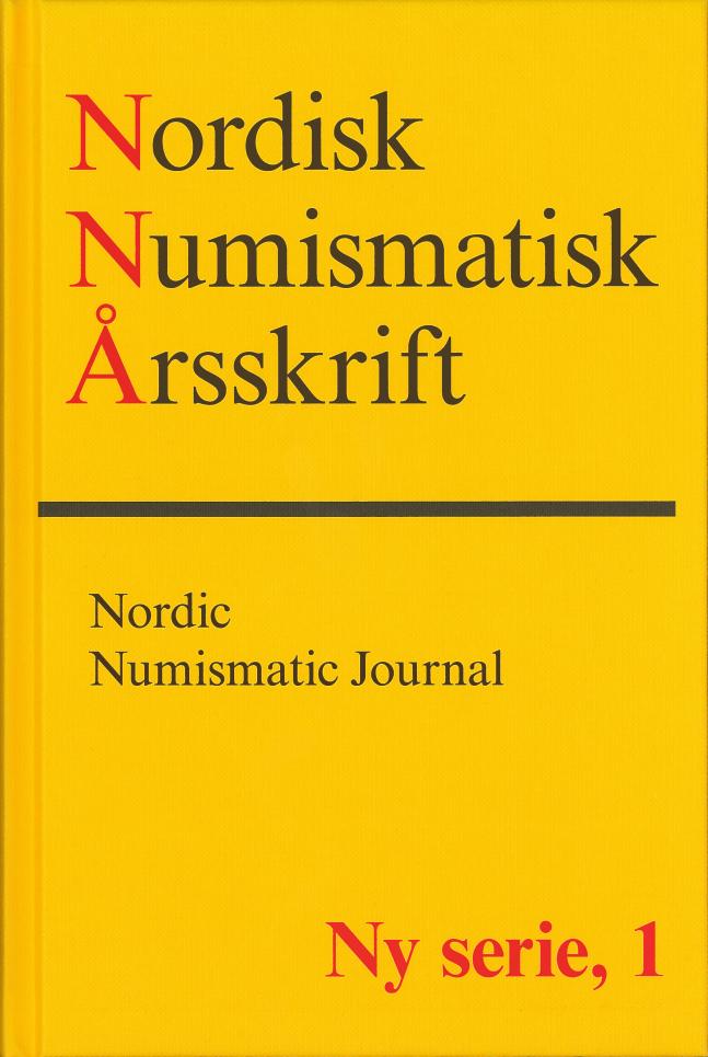 Nordisk Numismatisk Årsskrift Ny serie, 1