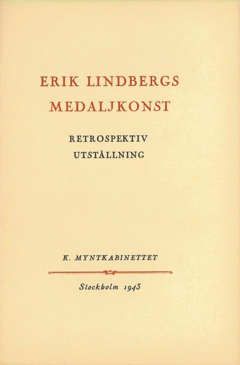 Erik Lindbergs Medaljkonst