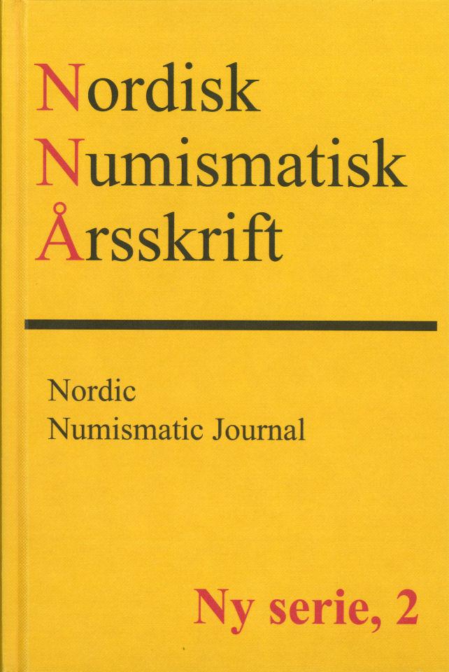 Nordisk Numismatisk Årsskrift Ny serie, 2